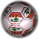 Mini Flag Soccer Ball