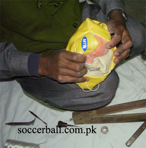 soccerball stitching